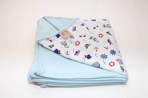 Wrap Sling Azul Bebê de Marinheiro
