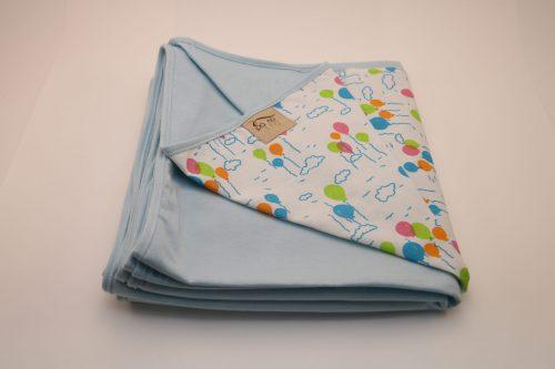 Wrap Sling Azul Claro Estampa Bexigas