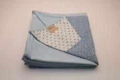 Wrap Sling Azul Claro Estampa Floral