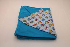 Wrap Sling Azul Turquesa Estampado Brinquedos