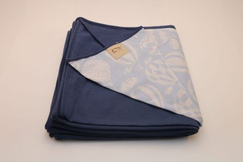 Wrap Sling Azul Marinho Estampa Balão