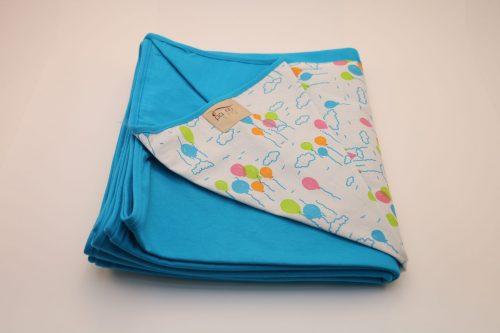 Wrap Sling Azul Turquesa Estampa Bexigas