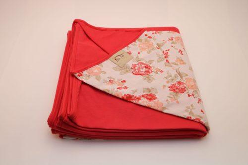 Wrap Sling Cereja Estampa Floral