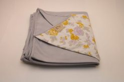 Wrap Sling Cinza Estampa Floral
