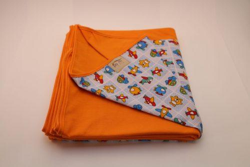Wrap Sling Laranja Estampado Brinquedos