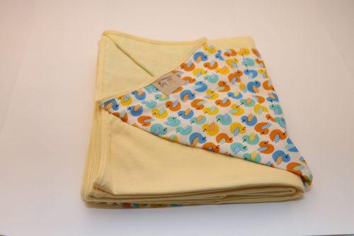 Wrap Sling Amarelo Estampa Patos