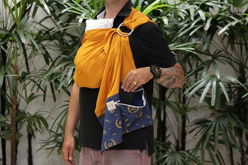 Ring Sling Caramelo
