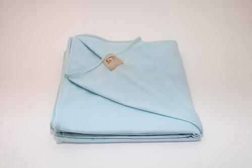 Wrap Sling Azul Bebê Malha Algodão Liso