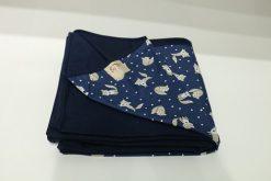 Wrap Sling Azul Marinho de Raposas