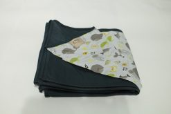 Wrap Sling Cinza Chumbo Fundo do Mar
