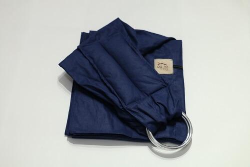 Sling de Argolas Azul Marinho Liso
