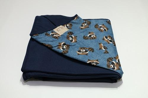 Wrap Sling Azul Marinho de Guaxinim