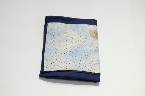Sling de Argolas Azul Marinho de Estrelinhas