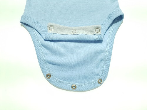 Body para Bebê Azul
