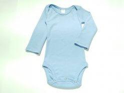 Body para Bebê Azul manga longa
