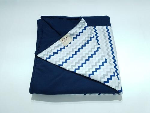 Wrap Sling Azul Marinho Chevron