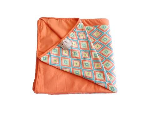 Wrap Sling Coral Geométrico
