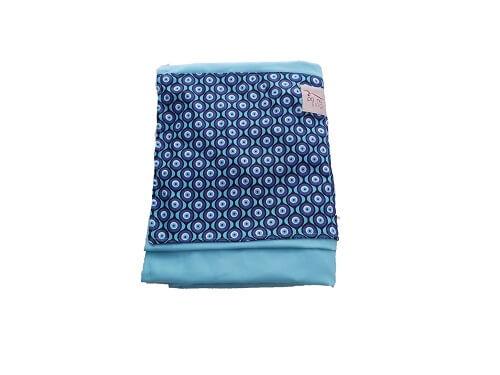 Sling de Argolas Azul Tiffany Olho Grego
