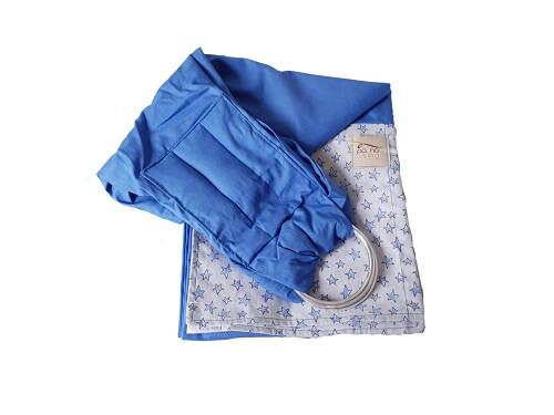Sling de Argolas Azul de Estrelinhas