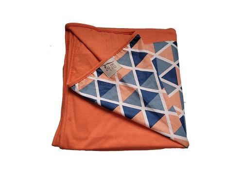 Wrap Sling Coral de Triângulos